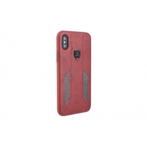 UNIQ Hülle / Backcover für iPhone XS / X Rot