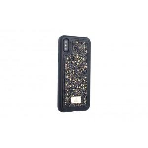 UNIQ Glamour Case / Hülle für iPhone XS / X Schwarz