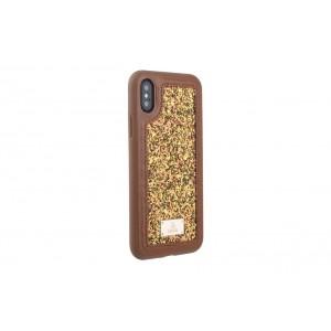 UNIQ Glamour Case / Hülle für iPhone XS / X Braun
