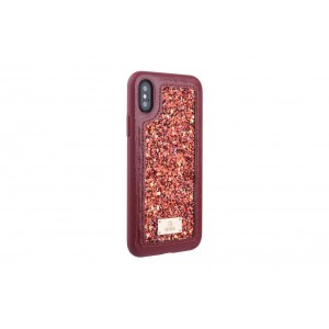 UNIQ Glamour Case / Hülle für iPhone XS / X Rot