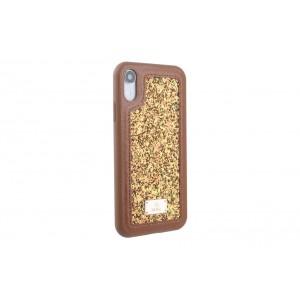 UNIQ Glamour Case / Hülle für iPhone XR Braun