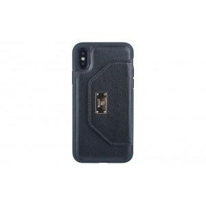 UNIQ Card Case / Hülle für iPhone X / Xs Schwarz