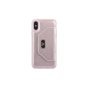UNIQ Card Case / Hülle für iPhone X / Xs Rose Gold