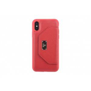 UNIQ Card Case / Hülle für iPhone X / Xs Rot