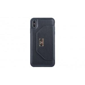 UNIQ Card Case / Hülle für iPhone XS Max Schwarz