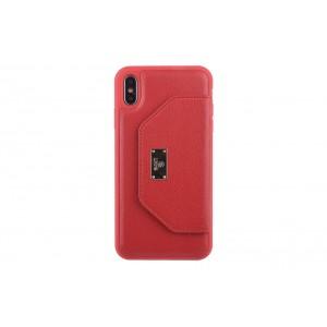 UNIQ Card Case / Hülle für iPhone XS Max Rot