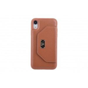 UNIQ Card Case / Hülle für iPhone XR Braun