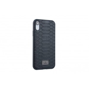 UNIQ Hülle / Backcover für iPhone XR Schlange Schwarz