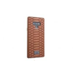 UNIQ Case / Hülle für Samsung Galaxy Note 9 Design: Schlange Braun