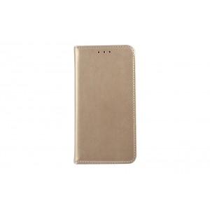 Premium Handytasche / Book Case für iPhone XS Max Gold