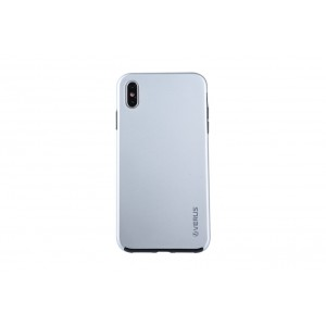 VERUS Full Body Dual Schutzhülle iPhone XS Max Silber