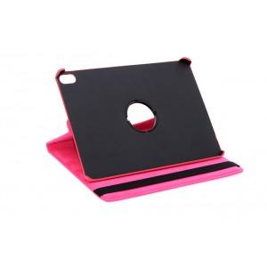 """Rotation Ledertasche für iPad 9.7"""" 2018 mit Standfunktion Pink"""