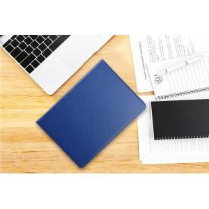 """Book Tablet Tasche für iPad 9.7"""" 2018 mit Standfunktion 360 Grad drehbar Blau"""