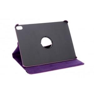 """Rotation Ledertasche für iPad 9.7"""" 2018 mit Standfunktion Violett"""