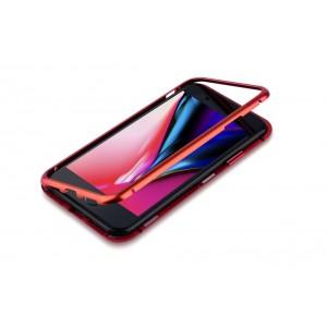 Magnet Hülle für Apple iPhone 8 Plus / 7 Plus Rot