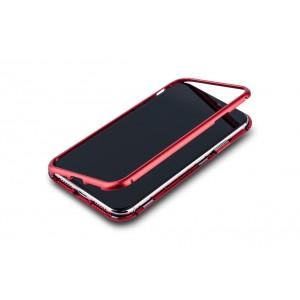 Magnet Hülle für iPhone XR Rot