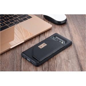 UNIQ Card Case / Hülle für Samsung Galaxy S10+ Plus Schwarz