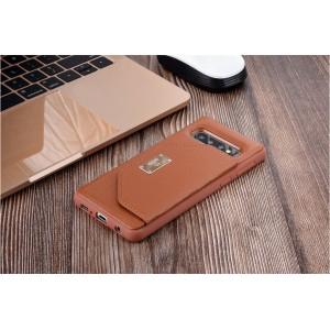 UNIQ Card Case / Hülle für Samsung Galaxy S10+ Plus Braun