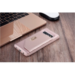 UNIQ Card Case / Hülle für Samsung Galaxy S10 Rose Gold
