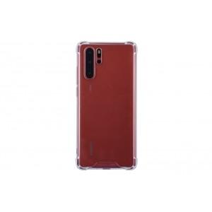 Silikon Hülle mit Kantenschutz für Huawei P30 Pro Transparent