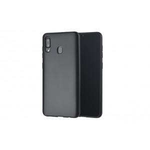 Handyhülle TPU für Samsung Galaxy A30 Schwarz