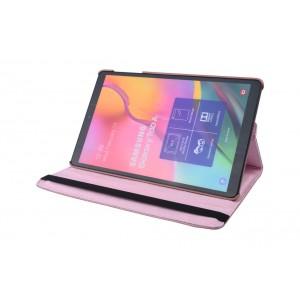 Tasche / Book Case für Samsung Galaxy Tab A T515 (2019) 360° drehbar Rose Gold