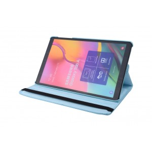 Tasche / Book Case für Samsung Galaxy Tab A T515 (2019) 360° drehbar Blau