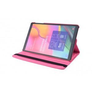 Tasche / Book Case für Samsung Galaxy Tab A T515 (2019) 360° drehbar Pink