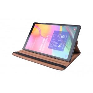 Tasche / Book Case für Samsung Galaxy Tab A T515 (2019) 360° drehbar Braun