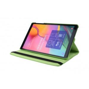 Tasche / Book Case für Samsung Galaxy Tab A T515 (2019) 360° drehbar Grün