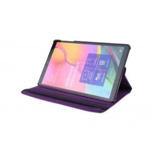 Tasche / Book Case für Samsung Galaxy Tab A T515 (2019) 360° drehbar Violett