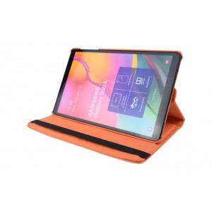 Tasche / Book Case für Samsung Galaxy Tab A T515 (2019) 360° drehbar Orange