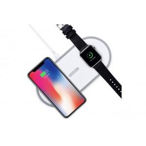 Earldom 2in1 Watch / Phone Wireless Lade Pad Ladegerät QI Standard