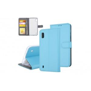 Tasche für Samsung Galaxy A10 Aufstellfunktion + Kartenfach Blau