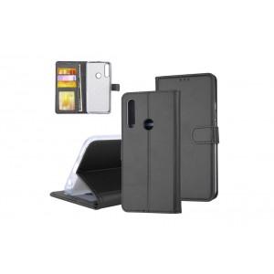 Tasche für Huawei P Smart Z Aufstellfunktion + Kartenfach Schwarz