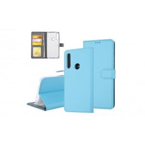 Tasche für Huawei P Smart Z Aufstellfunktion + Kartenfach Blau