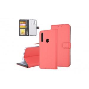 Tasche für Huawei P Smart Z Aufstellfunktion + Kartenfach Rot