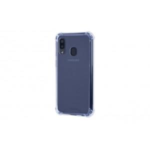 Silikon Shockproof Fallschutz Hülle Samsung Galaxy A40 Transparent
