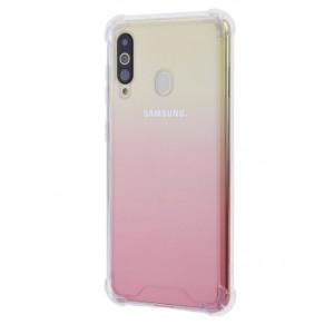 Silikon Shockproof Fallschutz Hülle Samsung Galaxy A60 Transparent
