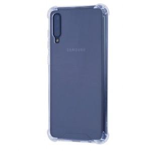 Silikon Shockproof Fallschutz Hülle Samsung Galaxy A70 Transparent