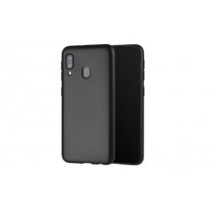 Handyhülle TPU für Samsung Galaxy A20e Schwarz