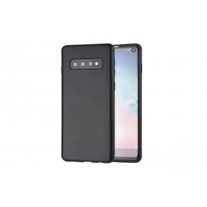 Handyhülle TPU für Samsung Galaxy S10 Schwarz