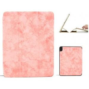 "Ledertasche / Schutzhülle SlimFit iPad Pro 11"" mit Standfunktion Marmor Rose"