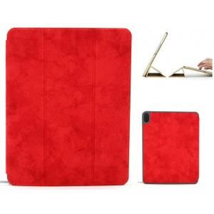 "Ledertasche / Schutzhülle SlimFit iPad Pro 11"" mit Standfunktion Marmor Rot"