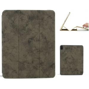 "Ledertasche / Schutzhülle SlimFit iPad Pro 11"" mit Standfunktion Marmor Grau"