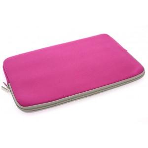 Universal Tasche Neopren Soft Slim für Laptops / Notebooks bis 11,6 Zoll Pink