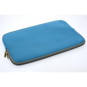 Universal Tasche Neopren Soft Slim für Laptops / Notebooks bis 11,6 Zoll Blau