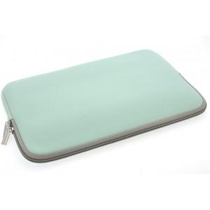 Universal Tasche Neopren Soft Slim für Laptops / Notebooks bis 11,6 Zoll hellgrün