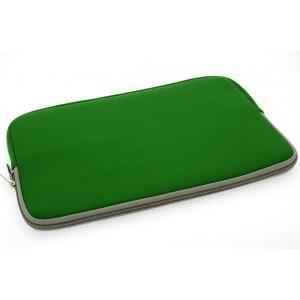 Universal Tasche Neopren Soft Slim für Laptops / Notebooks bis 11,6 Zoll Grün