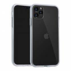 VERUS Full Body 360° Hybrid 2 teilige Hülle iPhone 11 Transparent